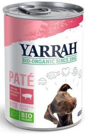 Yarrah Hond Blik Pate Varken 12 x 400 gr