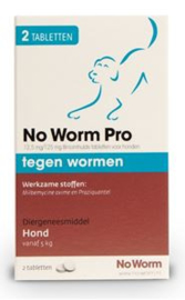No Worm Pro Hond-M 2 tab
