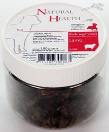 Natural Health Lamb Snack 100g