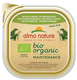 Almo Nature Daily Bio Dog Chicken+Vegetables 9 x 300 gr