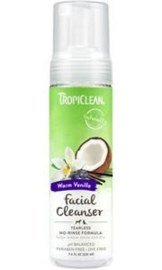 TropiClean Facial Cleanser Droogshampoo 220 ml gezichtsreiniger