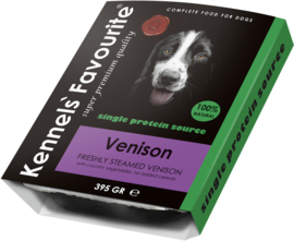 Kennels Fav. Steamed  10 x 395 gr Venison