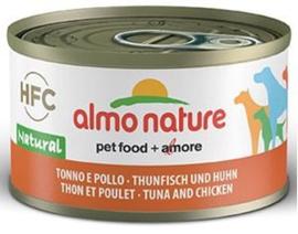 Almo Nature Dog HFC Natural Tonijn met Kip 24 x 95 gr