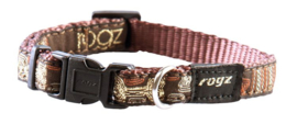 ROGZ JELLY HALSBAND MOCHA BONE S - 11MM