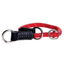 ROGZ ROPE OBEDIENCE RED LARGE - 45-55 CM / 12 MM.