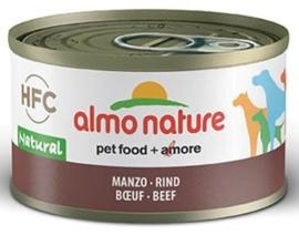 Almo Nature Dog HFC Natural Rundvlees 24 x 95 gr