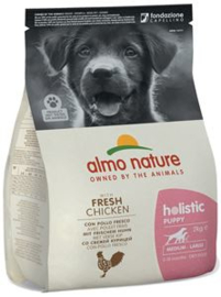 Almo Nature Holistic Dog M Puppy Kip 2 kg