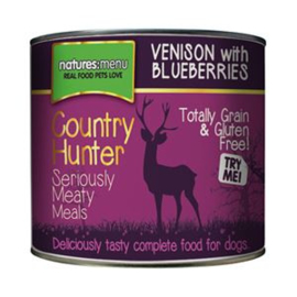 Natures Menu Dog Country Hunter Blik Venison 6 x 600 gr