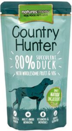 Natures Menu Dog Country Hunter Pouch Duck 6 x 150 gr