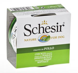Schesir Dog Jelly Chicken Fillets 10 x 150 gr