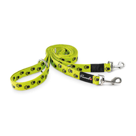 FREEZACK MULTIPURPOSE LEAD NORDIC YELLOW WITH PAWS M