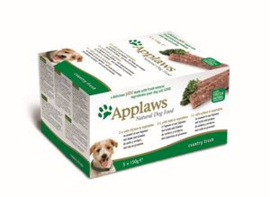 Applaws Dog Pate MP Country Sel. -Chick, Lamb, Salm 5x150 gr