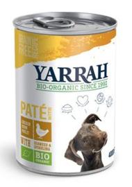Yarrah Hond Blik Pate Kip 12 x 400 gr
