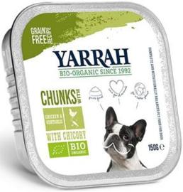 Yarrah Hond Alu Br.Kip+Groente 12 x 150 gr