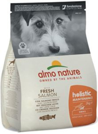 Almo Nature Holistic Dog S Zalm & Rijst 2 kg