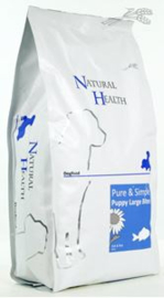 Natural Health Dog Fish & Rice Puppy Large Bite 2.5 kg