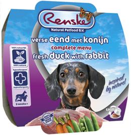 Renske Hond Eend en Konijn 8 x 100 gr