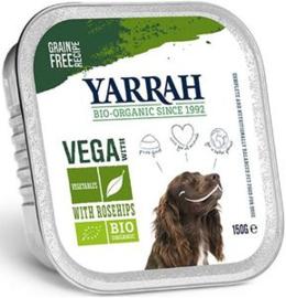 Yarrah Hond Alu Vegetarische brokjes 12 x 150 gr