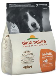 Almo NatureHolistic Dog M Zalm & Rijst 2 kg