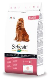 Dubbelpak! Schesir Dog Dry Medium Main Ham 2x 12 kg