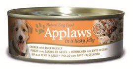 Applaws Dog Can Chicken Duck Jelly 12 x 156 gr