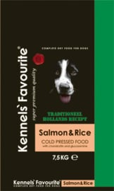 Kennels Favourite 'Cold-Pressed' Salmon - 7,5 kg.