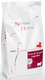 Natural Health Dog Adult Lam & Rice Large Bite 2,5