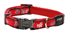 ROGZ JELLY HALSBAND RED ROGZ BONE S - 11MM