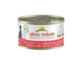 Almo Nature Dog HFC Ham en Parmezaan 24 x 95 gr