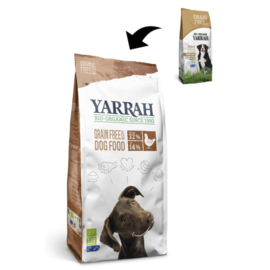 YARRAH - ORGANIC DOG FOOD 2 KG KIP & VIS ADULT
