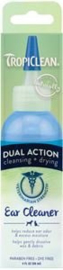 TropiClean Dual Action Ear Cleaner 118 ml