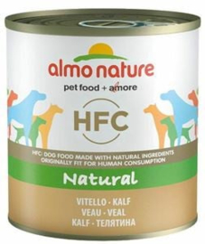 Almo Nature Dog Veal 12 x 290 gr