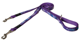 ROGZ BEACH BUM LIJN MULTI PURPLE FOREST - 20MM