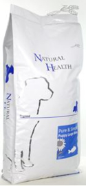 Natural Health Dog Puppy Fish & Rice Large Bite 12,5 kg