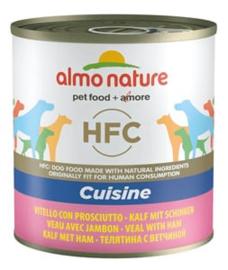 Almo Nature Dog Veal+Ham 12 x 290 gr
