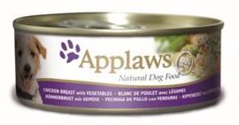 Applaws Dog Can Chicken, Veg & Rice 12 x 156 gr