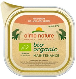 Almo Nature Daily Bio Dog Zalm - 32x100 gr.