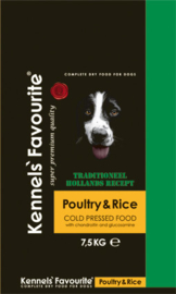 Kennels Favourite 'Cold-Pressed' Poultry - 7,5 kg