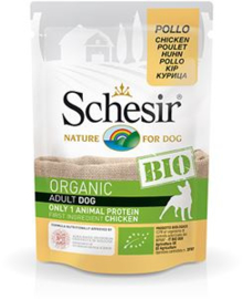 Schesir Dog Bio Chicken 	16 x 85 gr