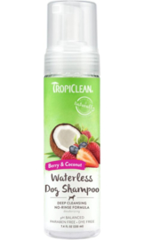 TropiClean Deep Clean Droogshampoo 220 ml