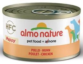 Almo Nature Dog HFC Puppy met Kip 24 x 95 gr