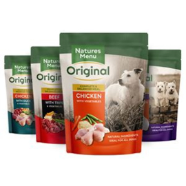 Natures Menu Dog Pouch Multi-Pack - 8x300 gr