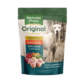 Natures Menu Dog Pouch Chicken & Duck 8x300