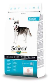 Schesir Dog Dry Medium Main Fish 12 kg