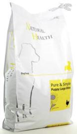 Natural Health Dog Chicken & Rice Puppy Large bite 7,5 kg