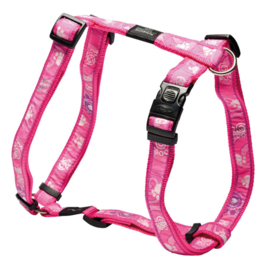 ROGZ ARMED RESPONSE TUIGJE PINK PAW XL - 25MM