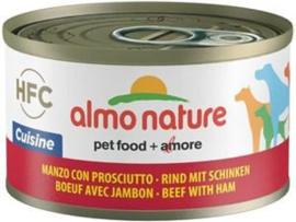 Almo Nature Dog HFC Cuisine Rund Ham 24 x 95 gr