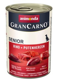 Grancarno Senior Rund+Kalkoenhart 6 x 400 gr
