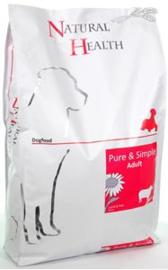 Natural health dog Lamb & Rice  7,5 kg