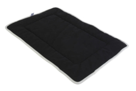 ROGZ LOUNGE POD MAT BLACK ON GREY - SMALL